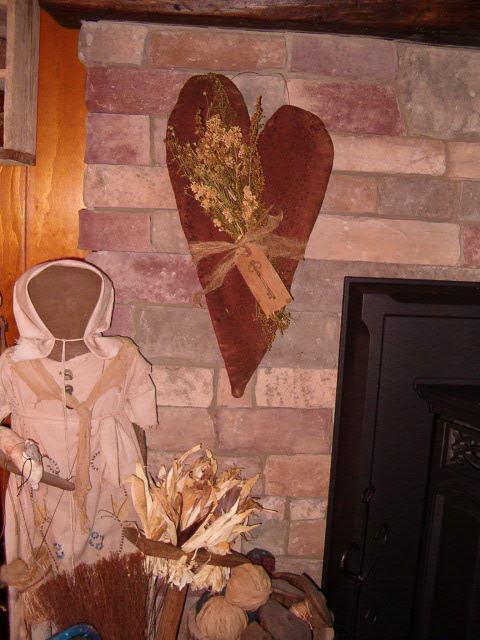 This ... & kimu0027s kountry kreations prim heart door hanger