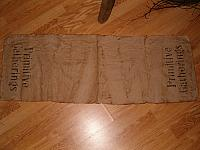 primitive gatherings table runner