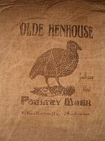 olde henhouse flour sack items