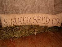 shaker seed co pillow