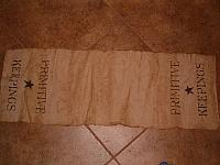 primitive keepings table runner