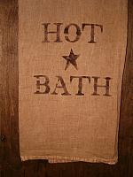 Hot Bath floursack towel