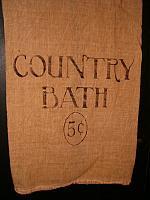 Country Bath floursack towel