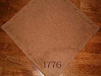1776 napkin