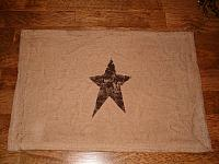 prim star placemat