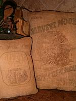 harvest moon corn meal pillow