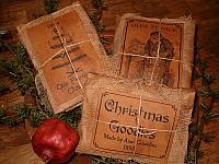 scented Christmas sachets