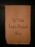 ye olde Easter basket shop towel or pillow