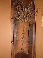 1776 sweet annie burlap sack