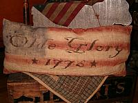 olde glory 1776 pillow
