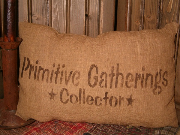 primitive gatherings collector pillow