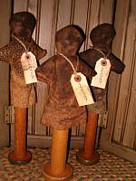 1829 bobbin stump doll