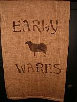 Early Wares sheep towel
