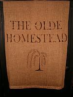 olde homestead willow tree towel