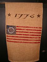 1776 flag towel