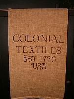 Colonial Textiles towel