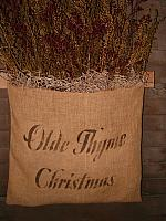 Olde Thyme Christmas sweet annie sack