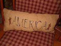 America pillow