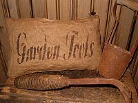 garden tools pillow