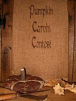 pumpkin carvin contest towel