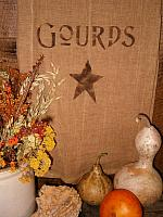 gourds star towel