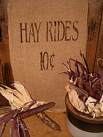 hay rides towel