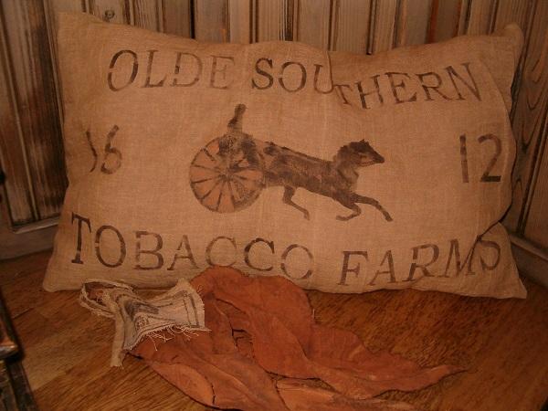 tobacco farms pillow