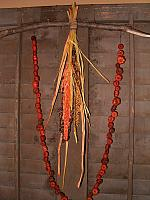 putka pod garland with dried florals