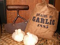braids of garlic ditty bag