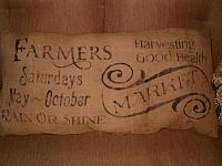 farmers market pillow
