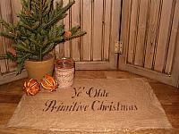 ye olde primitive Chritmas placemat