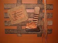 wide lye soap lath hanger