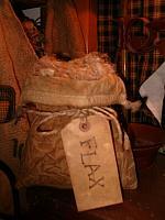 lg flax ditty bag