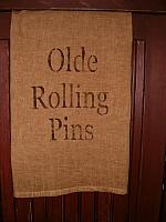 Olde Rolling Pins towel