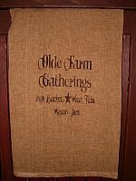 Olde Farm Gatherings towel