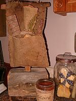 prim soap pouch stand