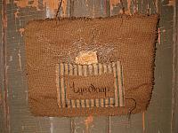 Lye Soap hanger