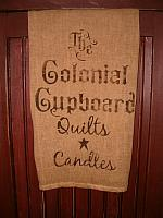 The Colonial Cupboard towel