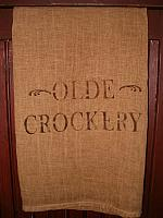 olde crockery towel