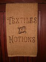 textiles and notions towel