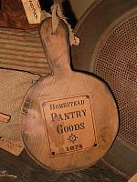 Pantry Goods advertising board