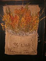 ye olde harvest thyme drieds hanger