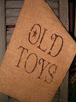 old toys sack