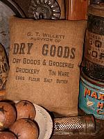 Dry Goods pillow