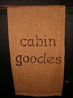 Cabin Goodes towel