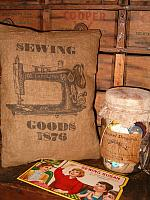 Sewing Goods 1876 pillow