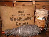 1862 woolhookers goods pillow