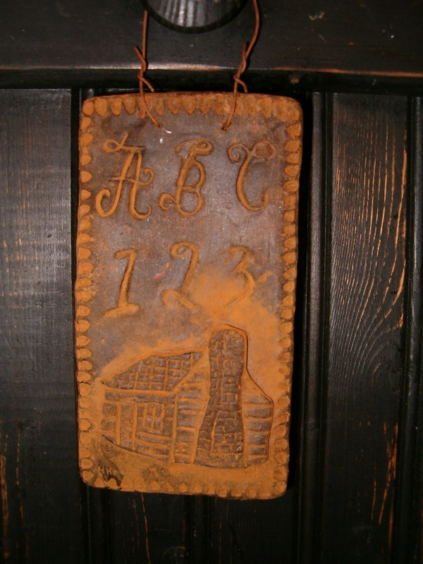log cabin beeswax cupboard hanger