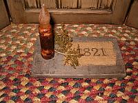 1821 candle board