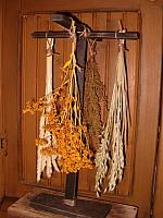 standing herb dryer